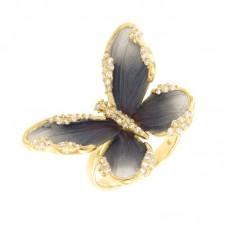 Anello con diamanti - G1140R-BLC