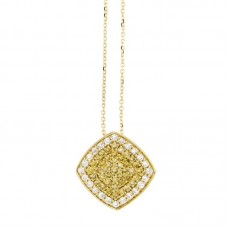 Girocollo con diamanti - P00359YB08
