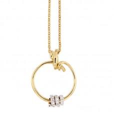 Girocollo con diamanti - P39693-3013