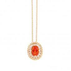 Girocollo con diamanti - P42249-2