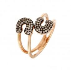 Anello con diamanti - R40736-4