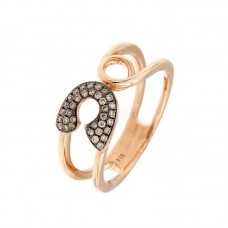 Anello con diamanti - R40739-2