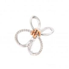 Anello con diamanti  - R41775-4