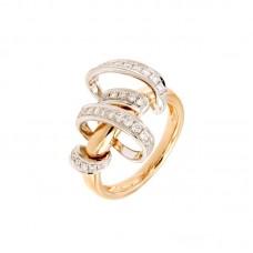 Anello con diamanti  - R42769-1
