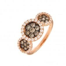 Anello con diamanti  - RY10073-3011