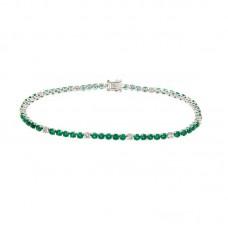 bracciale con diamanti e pietre naturali - AFA0213EM-02