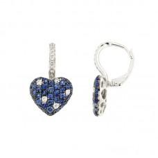 Orecchino con diamanti e pietre naturali - E34791C-1