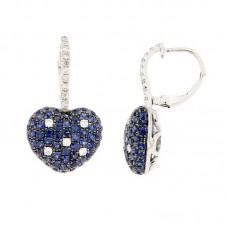 Orecchino con diamanti e pietre naturali - E37308A.1