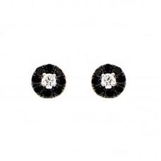 orecchini con diamanti - E38450B-3003