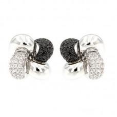 orecchini con diamanti - E38964-10