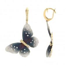 Orecchini con Diamanti - G1011E-BLC
