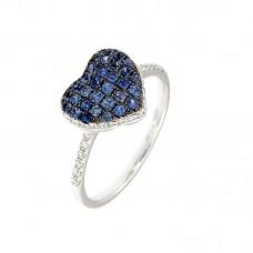 Anello con diamanti e pietre naturali - NSPR34791B1