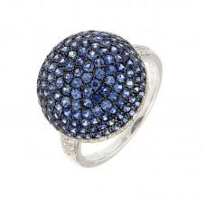 Anello con diamanti e pietre naturali - R32215-33