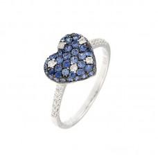 Anello con diamanti e pietre naturali - R34791A-2