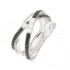 Anello con diamanti  - R39617-11